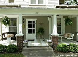 Delightful Front Porch Decoration Ideas And Designs