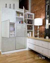 office storage unit. LOFT OFFICE 3: Functional And Beautiful- This Storage Unit Is Sleek, Requiring A Office I
