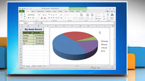 How To Add Titles In A Pie Chart In Excel 2010