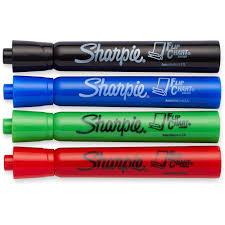 Flip Chart Markers Marker Set Flip Chart 4 Color Set Black Red Blue Green