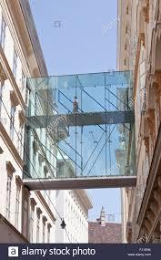 Suspended Walkway Design Modern Glass Suspended Walkway Stock Photo 97149168 Alamy