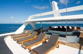 yacht ocean sapphire sundeck deck chairs