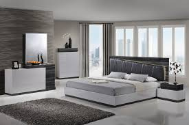 Silver Bedrooms Lexi Silver Gray Queen Size Bed Lexi Global Furniture Usa Modern