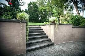 cement retaining wall ideas decorative concrete walls stamped patio block repa