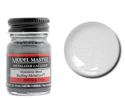 Testors Spray Paint Chart Testors Model Master Metalizer Lacquer Paints Stainless Steel Flat
