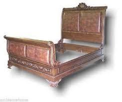 King Sleigh Bed | eBay