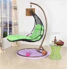 rattan hanging chair garden swing chairs indoor swing chair with stand