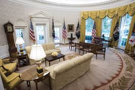 oval office carpet eagle. White House Renovation Is Confirmed After Trump\u0027s \ Oval Office Carpet Eagle C