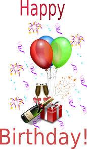 Free Birthday Clipart Animations Vectors
