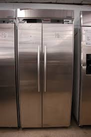 kitchenaid stainless steel side by side refrigerator with ice maker orlando appliance s