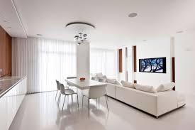 Kitchen Lounge Diner Design White Kitchen Diner Lounge Interior Design Ideas