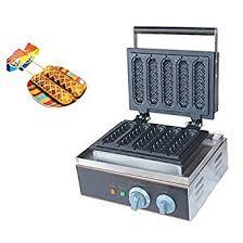 Amazon.com: BAOSHISHAN <b>5pcs</b> Hot Dog Waffle Maker Lolly ...