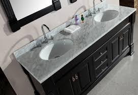 double sink vanity with granite countertop. design element marcos double sink vanity set with carrara white marble countertop, 72-inch - bathroom vanities amazon.com granite countertop