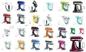 Kitchenaid Mixer Colors Sharronbarahona Co