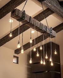 reclaimed wood chandelier beams best lamps restaurant bar chandeliers rustic and metal reclaimed wood chandelier