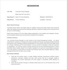 Product Manager Resume Pdf Product Manager Resume Pdf Technical Product Manager Job Description