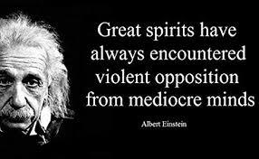 Amazon 40 X 40 XXXL Poster Albert Einstein Quote Great Spirits Custom Albert Einstein Quotes