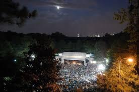 2012 Chastain Park Amphitheater Concert Schedule Park