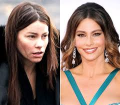 see your favorite hollywood celebrities without makeup and find what reality of their makeup painted faces is