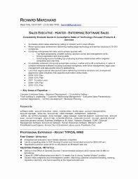 Sales Representative Resume Sample New Standard Professional Resume