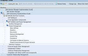 project management in a nutshell for sap solution manager  the required roles and authorizations are for the standard functionality can be maintained in the transaction solman setup for project management