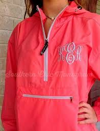 Charles River Windbreaker Size Chart Personalized Monogrammed Charles River Pack N Go Light Weight Rain Jacket Windbreaker Bridesmaid Gift Graduation Gift Greek Sorority