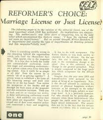 one the homosexual viewpoint and it prompted a couple letters to the editor in the issue