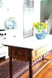 used kitchen island antique table furniture islands for made into