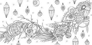 物語のある美しい塗り絵 クリスマスキャロル グッドワイヴス