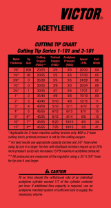 Purox 4202 Cutting Tip Chart Gas Apparatus Solutions From Esab