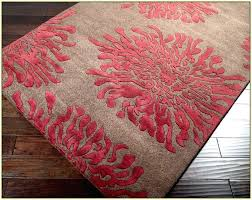 brown and red area rug astonishing design of the red area rug with fl motive ideas brown and red area rug