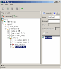 Viewing Xml File Viewing The Acc Xml File In Sas Xml Mapper Condensed View