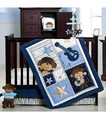 carter s monkey 4 piece crib bedding set star moon and baby sets rock