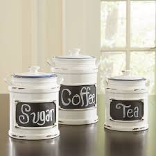 assorted tea coffee sugar kitchen canister set red retro