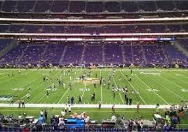 Minnesota Vikings Stadium Map Vikings Seating Chart At U S