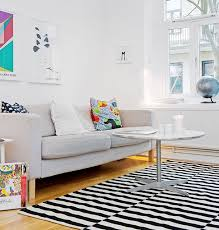 awesome archive with tag black and white striped area rug 5x7 inside black and white striped area rug modern