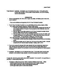 Thesis Statement For Education Essay Thesis Statement Specifically I Will Enlighten You On The