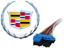 metra cadillac radio wire harness