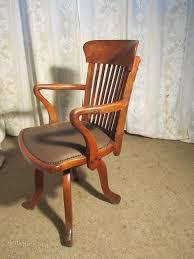 19th century oak office chair or desk chair antiques atlas antique oak office chair