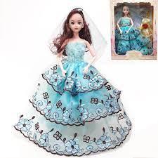 Báo giá Đồ chơi Búp bê barbie có khớp công chúa, cô dâu cho bé kèm phụ kiện  váy đầm, Quà tặng sinh nhật cho bé gái (giao mẫu ngẫu nhiên) chỉ