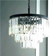 the gallery crystal chandelier glass fringe 3 tier mon