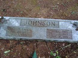 JOHNSON, GERTRUDE - Saline County, Arkansas | GERTRUDE JOHNSON - Arkansas  Gravestone Photos