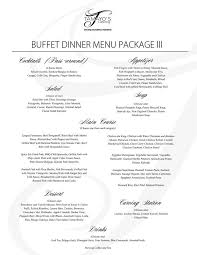 wedding package 3 wedding catering contract sample