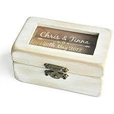Decorative Ring Boxes Amazon Wedding Ring BoxVintage Wodden Ring Bearer Box 61