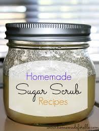 homemade sugar scrub recipe