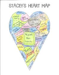 heart maps two writing teachers Heart Map For Writers Workshop updating your map Writing Heart Map Printable