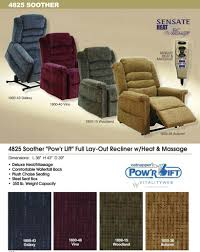 large size of chair catnapper soother lift recliner information power with heat and htm oversized electric