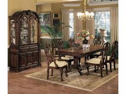 China Cabinet With Hutch Crown Mark Brussels Buffet And Hutch With Two Glass Doors Royal
