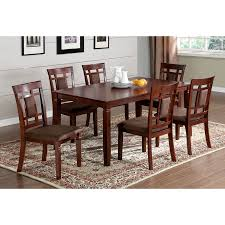 cherry wood dining room table. Brilliant Cherry Furniture Of America Montclair Dark Cherry Dining Set With Rectangular  Table To Wood Room