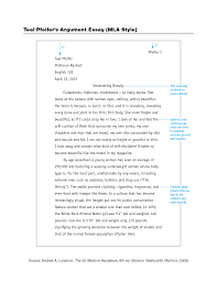 Sample Research Paper Mla Style Owl Citation Example Argumentative